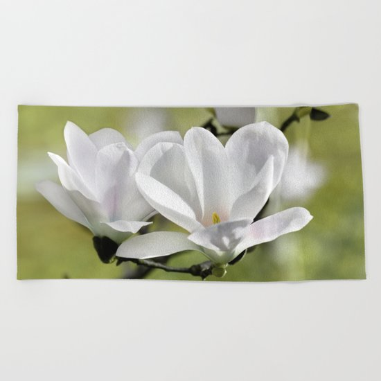 Magnolia 171 Beach Towel