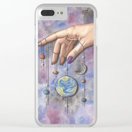 My World Clear iPhone Case