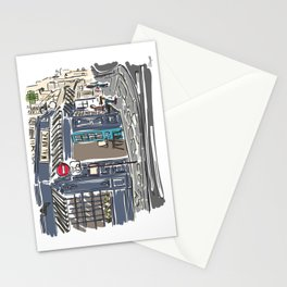 Le Malabar Cafe in Paris, France Stationery Cards