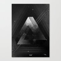 triangle Canvas Prints featuring Triangle by Guilherme Rosa // Velvia