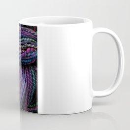 Handspun - Clematis Coffee Mug