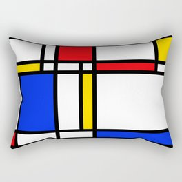 Mondrian Rectangular Pillow