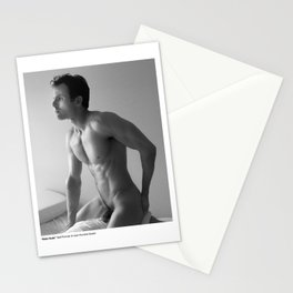 Male Nude Self Portrait Stationery Cards