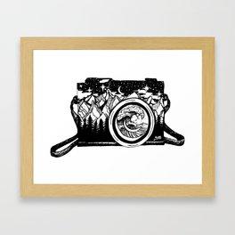 PNW Vintage Camera Framed Art Print