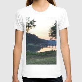 Sunrise Over the Bridge T-shirt