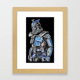Fives Framed Art Print