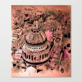 St Pauls London Canvas Print