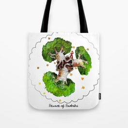 The Little Prince: Beware of Baobabs Tote Bag