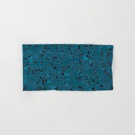 Reboot BLUE Hand & Bath Towel