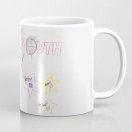 Ceramic Mouth Girl Coffee Mug