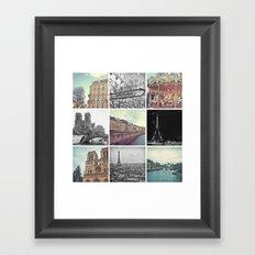 Paris 2012 Framed Art Print