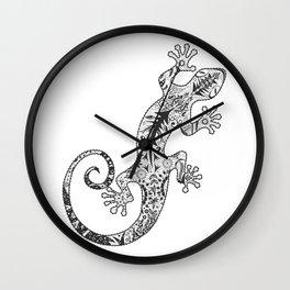 ornate gecko Wall Clock