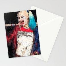 crazy girl Stationery Cards