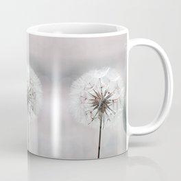 Delicate Dandelion Flower in soft light Coffee Mug