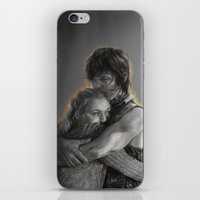 beth hoeckel iPhone & iPod Skins featuring Beth & Daryl - when I'm gone by Nikita Jobson