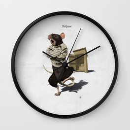 Shithouse Wall Clock