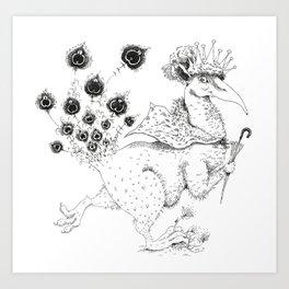 Snuffles Art Print