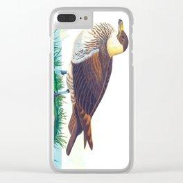 'Jager' by John James Audubon Clear iPhone Case