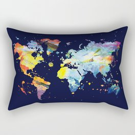 THE COLORFUL WORLD Rectangular Pillow