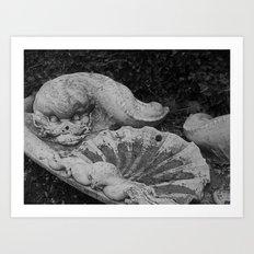 Gardenmonster Art Print
