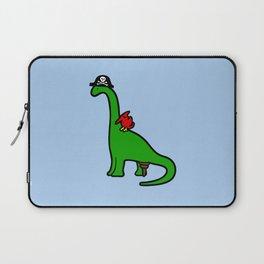 Pirate Dinosaur - Brachiosaurus Laptop Sleeve