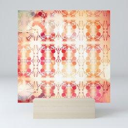 Tie Dye Vintage Abstract Mini Art Print