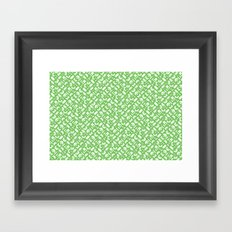Control Your Game - Grass Framed Art Print