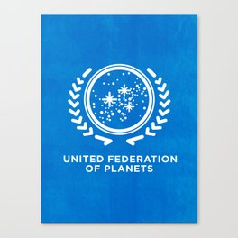 In Space We Trust Canvas Print
