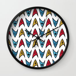 Insignia Pins Wall Clock