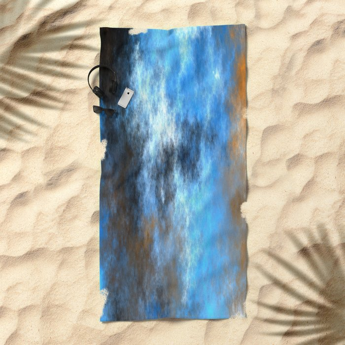 Storm and Lightning   (A7 B0229) Beach Towel