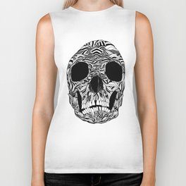 The Carved Skull Biker Tank