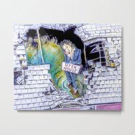 Open House Metal Print