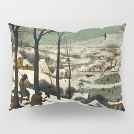Hunters in the Snow (Winter) Pillow Sham