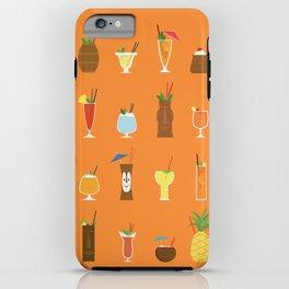 Tiki Drinks iPhone Case