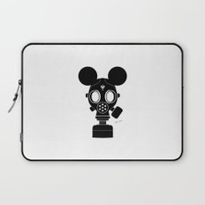 Post World Zuno : Gas Mask 01 Laptop Sleeve