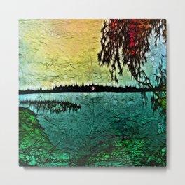 :: Lake View :: Metal Print