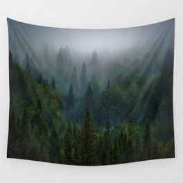 I dream in evergreen Wall Tapestry