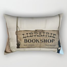 Librairie Bookshop Rectangular Pillow