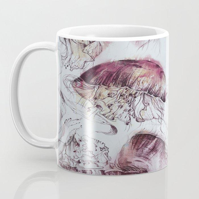 Moon Jellies Coffee Mug