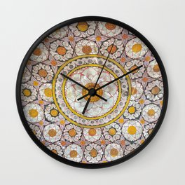 Lotus Wall Wall Clock