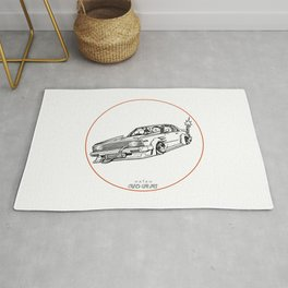 Crazy Car Art 0099 Rug