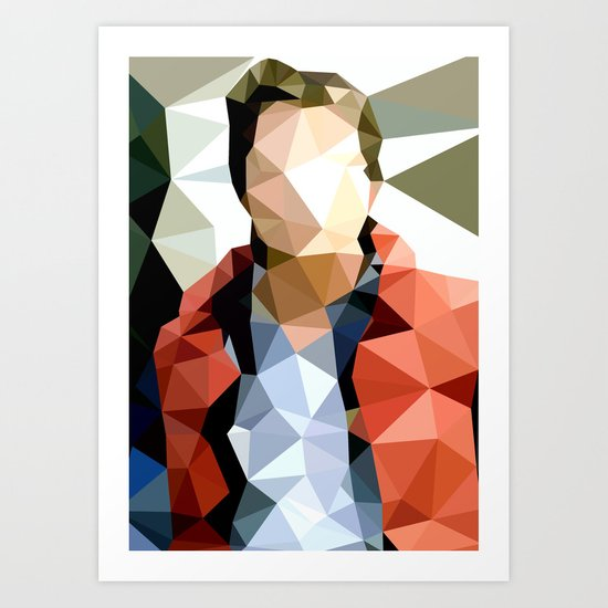 Back to the Future // Marty McFly Art Print