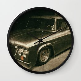 Vintage Car, Dodge Wall Clock
