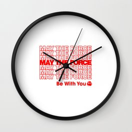 Recyclable Rebel Wall Clock