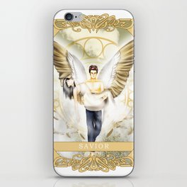 Wings of Faith : Savior iPhone Skin