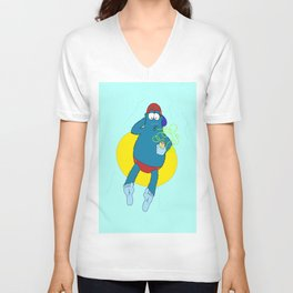 Summer Fun With Dale BigFoot Unisex V-Neck