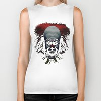 pennywise Biker Tanks featuring Pennywise by John Medbury (LAZY J Studios)