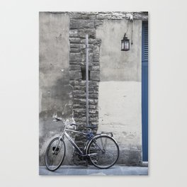 Bicycles of Tuscany7 Canvas Print