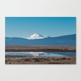 Mt Shasta Reflection Canvas Print