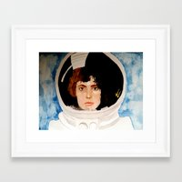 ripley Framed Art Prints featuring ripley by TatumFlynn
